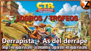 Crash Team Racing Nitro-Fueled: Logros / Trofeos Derrapista + As del derrape