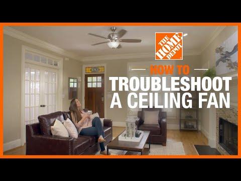 Ceiling Fan Troubleshooting