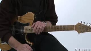 Mike stern   lesson   diminished scale in G                7 ( 9b, +9, +11,13 )