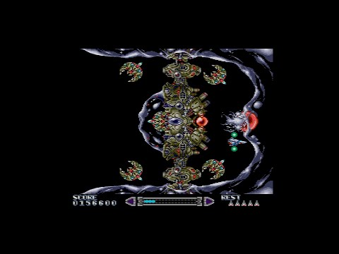 RayXanbeR II (PC-Engine CD) - ¡Completo y comentado! Análisis 1cc