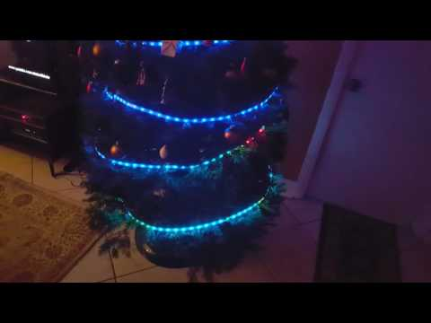 Xmas tree sine wave test