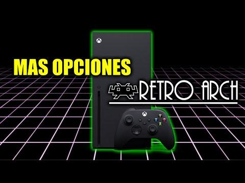 Mas Opciones de Retroarch en Xbox