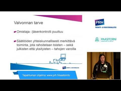 Säätiö-iltapäivä 2018 Pauliina Päivinen