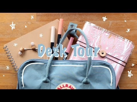 ✧・゚:* Aesthetic Desk Tour *:・゚✧ Minimalist Dawn Sky Color Palette ・✫・゜・