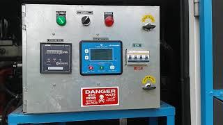 ASHOK LEYLAND DG engine start up