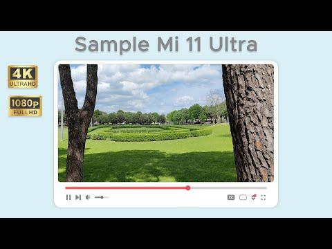 Test di ripresa video da Xiaomi Mi 11 Ul …