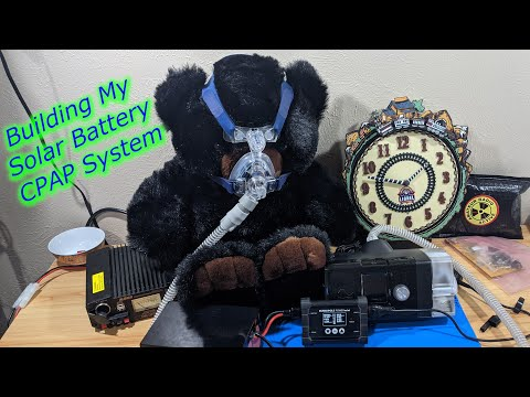 Building My CPAP Solar Battery System
