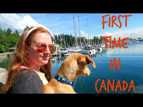 FIRST TIME IN CANADA | VANCOUVER VLOG