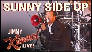 Faith No More performs 'Sunny Side Up' on Jimmy Kimmel Live!
