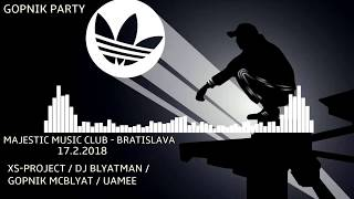 XS Project invite to GOPNIK PARTY - Bratislava 17.02.2018