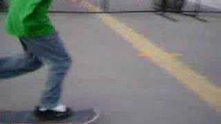Clayton Going Dumb On A Skate Board