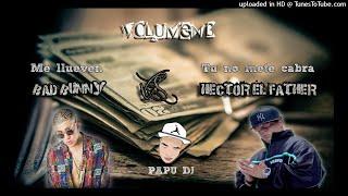 Mega Me Llueven Vs Tu No Metes Cabra - Bad Bunny Ft Hector El Father - PAPU DJ 2017