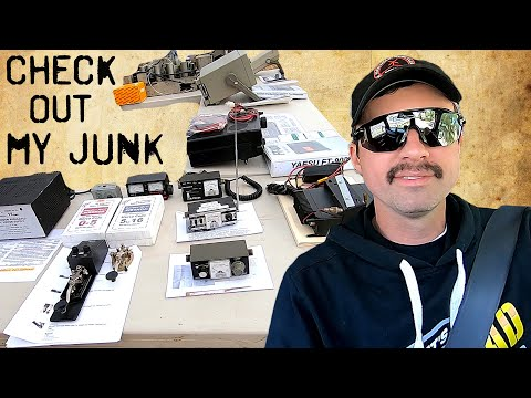 Mini Ham Radio Swap Meet w/ VVRC