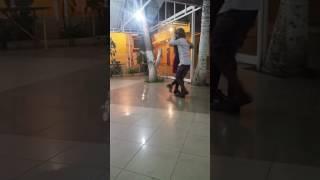 Laura Carin Alvarez & Mario da Cruz having fun - Angola 31/05/17