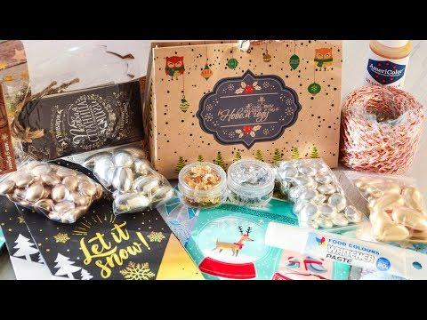 РАСПАКОВКА посылки ☆ Новогодняя упаковка для СЛАДОСТЕЙ ☆  ТОРТОМАСТЕР