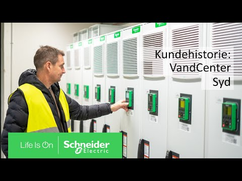 Digitalisering sætter skub i energieffektiviteten hos VandCenter Syd | Schneider Electric