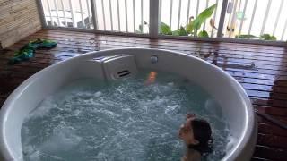Vlog da banheira de espa
