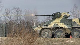 На полігоні під Житомиром десантники 95 бригади випробовують новий БТР-3ДА - Житомир.info