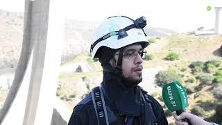 Des Ninjas marocains sur le pont Mohammed VI