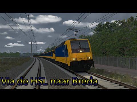 Preview!! Via HSL naar Breda - Train Simulator 2020