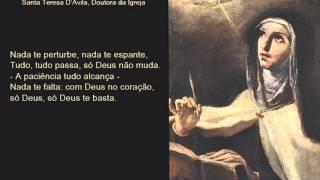 Nada te perturbe (Santa Teresa D'Ávila)