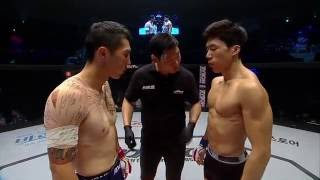 XIAOMI ROAD FC 033 3rd Lightweight Match Nandin Erdene(난딘 에르덴) VS Ki Won-Bin(기원빈)