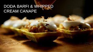 Doda Barfi & Whipped Cream | The Easy Food Recipes
