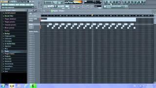 FL Studio 11 - SKRILLEX Electric Guitar Cover (REMIX By LB RECORDZ)