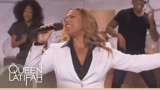 Queen Latifah Performs Saturday Night Fever on The Queen Latifah Show