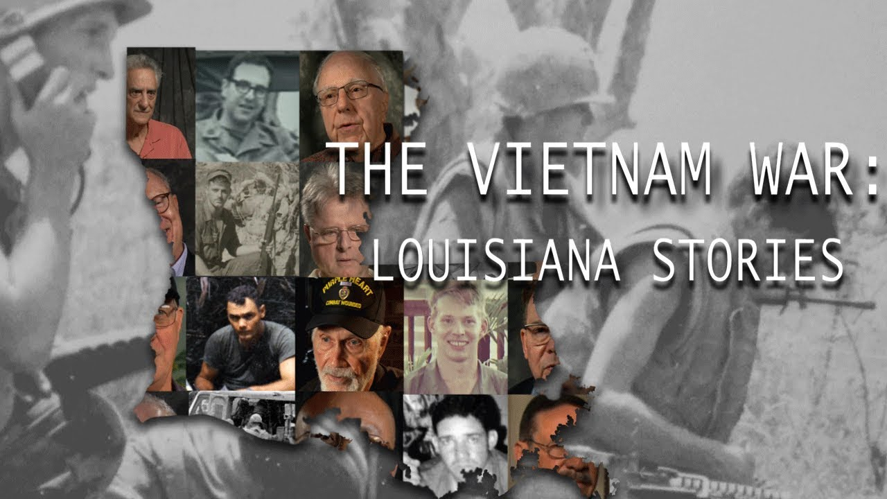 The Vietnam War : Louisiana Stories
