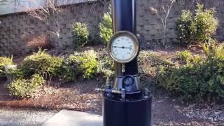 Live steam boiler Paul steam engine gauge pump pop off