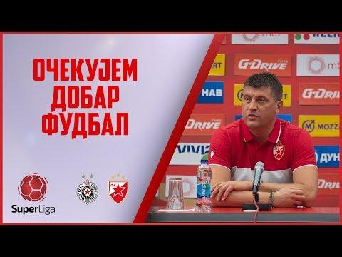 Milojević pred 161. večiti derbi: Očekujem dobar fudbal