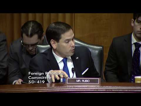 Rubio speaks about resolving the conflict in Yemen