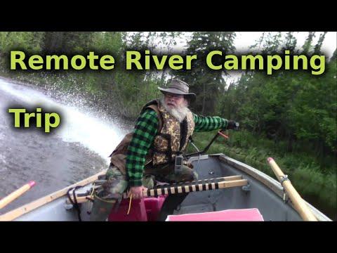 Remote Alaska River Camping Trip