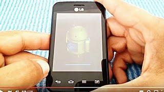 Hard Reset LG Optimus L3 2 E425f, E435f, E470f,  E475, E415, Como Formatar,  Desbloquear