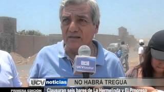 Clausuran seis bares en La Hermelinda y El Progreso