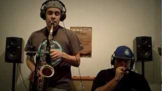 Freestyle Jam in the band - Saxophone / beatbox
