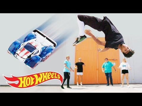 NEW TRICKS AND STUNTS COMING SOON! | Fast Track | Hot Wheels