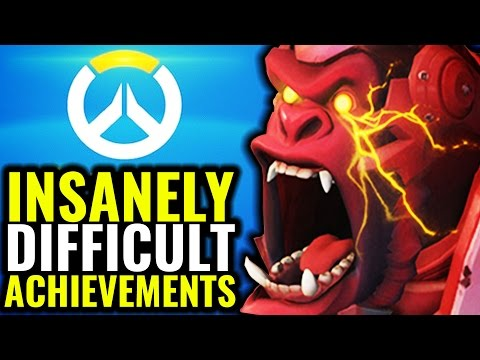 Overwatch: INSANELY Difficult Achievements