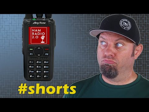 Anytone REVEALS the AT-D878UVII Plus | Best DMR Ham Radio 2021 #shorts