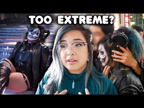 "Download Video I Went To Japan's ""Extreme"" Halloween Night"