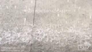 08-09-2017 Kansas City MO Short Downpour and Slow Motion Rain