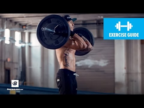 Barbell Front-To-Back Squat | Exercise Guide