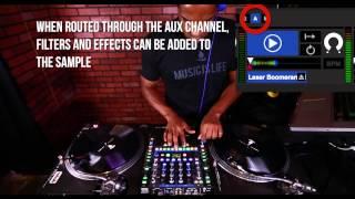 Serato Scratch Sample Player | DJ Choc | Scratch DJ Academy