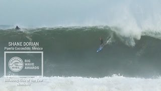 Shane Dorian at Puerto - 2015 Billabong Ride of the Year Nominee - WSL Big Wave Awards
