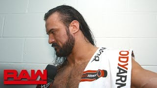 Drew McIntyre will make statements every week on The Road to WrestleMania: Exclusive, Feb. 18, 2019