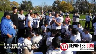 Harrison Park Panters segunda semifinal Chicagoland Youth Football League