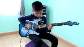 Dream Theater - Pull Me Under Solo Cover by Jong ลูกศิษ ป.4