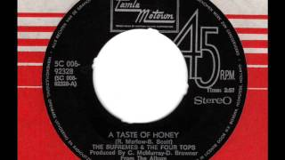 SUPREMES & FOUR TOPS  A taste of honey