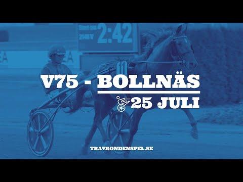 V75 Tips - Bollnäs - 25 juli 2020